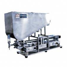 Llenadoras para liquidos • LLD-SEM-V1, maquinas de envasado, maquinas para el envasado, maquinas envasadoras, maquinas para envasar.